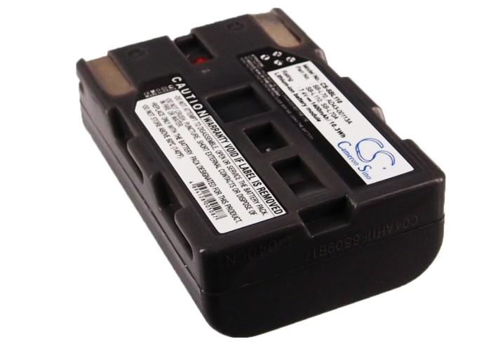 Cameron Sino baterie do kamer a fotoaparátů pro SAMSUNG VP-D75 7.4V Li-ion 1400mAh šedá - neoriginální