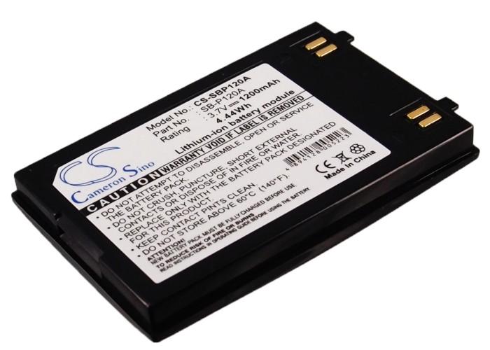 Cameron Sino baterie do kamer a fotoaparátů pro SAMSUNG SC-MM12 3.7V Li-ion 1200mAh černá - neoriginální