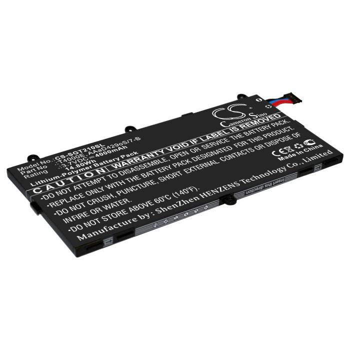 Cameron Sino baterie do tabletů pro SAMSUNG SM-T210 3.7V Li-Polymer 4000mAh černá - neoriginální