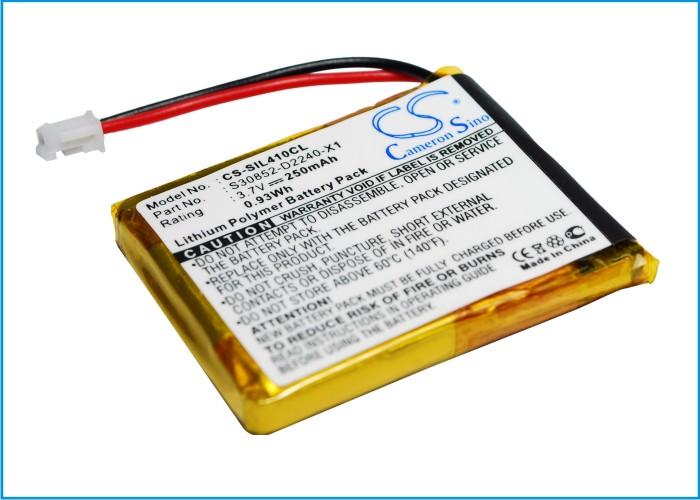 Cameron Sino baterie do bezdrátových telefonů pro SIEMENS Gigaset L410 3.7V Li-ion 250mAh černá - neoriginální