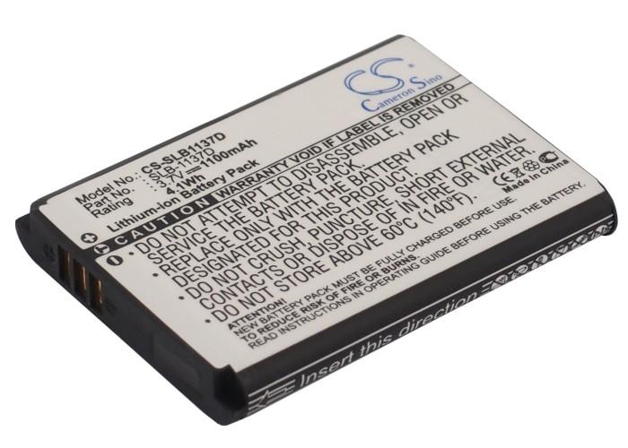 Cameron Sino baterie do kamer a fotoaparátů pro SAMSUNG i85 3.7V Li-ion 1100mAh černá - neoriginální