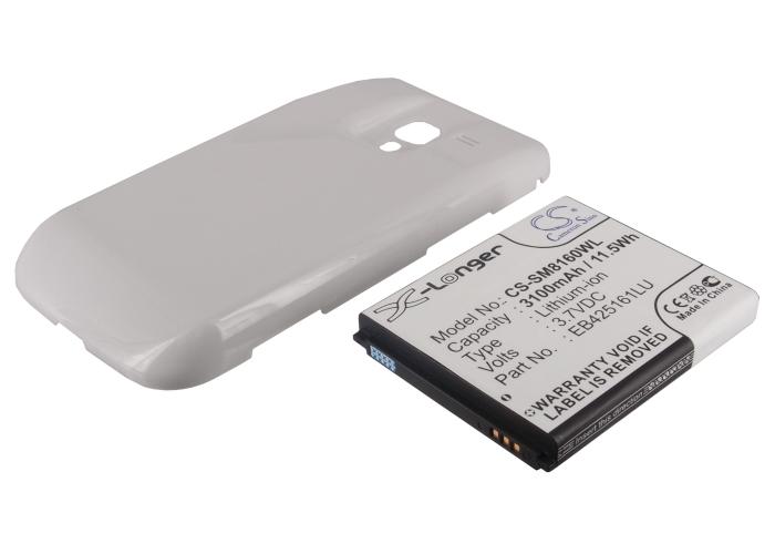 Cameron Sino baterie do mobilů pro SAMSUNG GT-I8160 3.8V Li-ion 3500mAh bílá - neoriginální