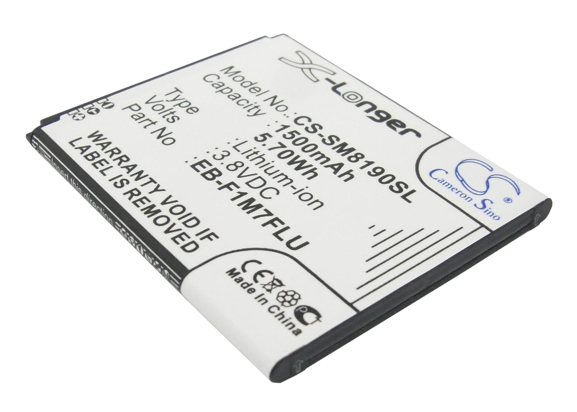 Cameron Sino baterie do mobilů pro SAMSUNG GT-I8200 3.8V Li-ion 1500mAh černá - neoriginální