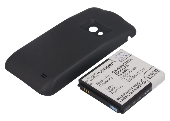 Cameron Sino baterie do mobilů pro SAMSUNG GT-I8530 3.7V Li-ion 4000mAh černá - neoriginální