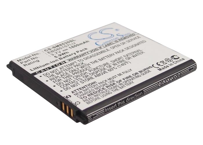Cameron Sino baterie do mobilů pro SAMSUNG GT-I8530 3.7V Li-ion 1600mAh černá - neoriginální
