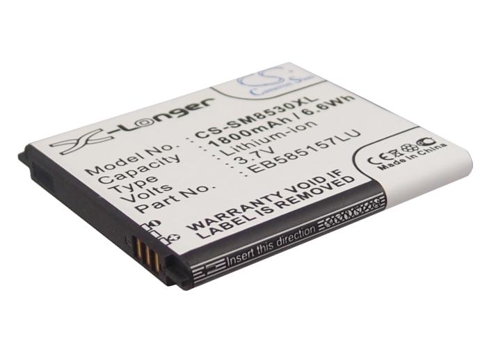 Cameron Sino baterie do mobilů pro SAMSUNG GT-I8530 3.7V Li-ion 1800mAh černá - neoriginální