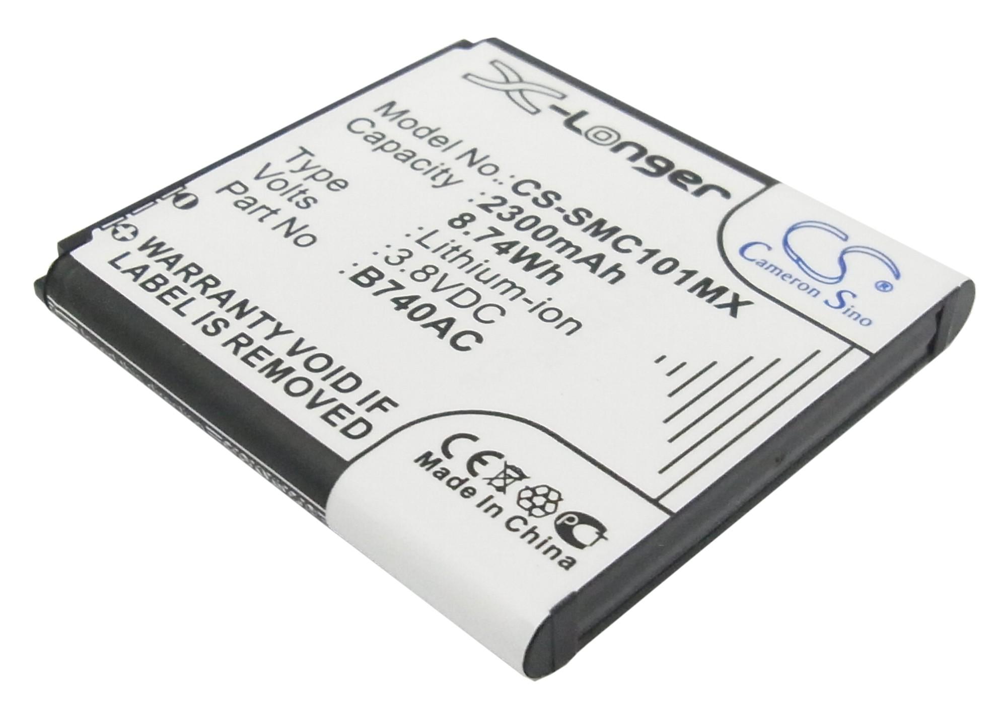 Cameron Sino baterie do kamer a fotoaparátů pro SAMSUNG SM-C101 3.8V Li-ion 2300mAh černá - neoriginální