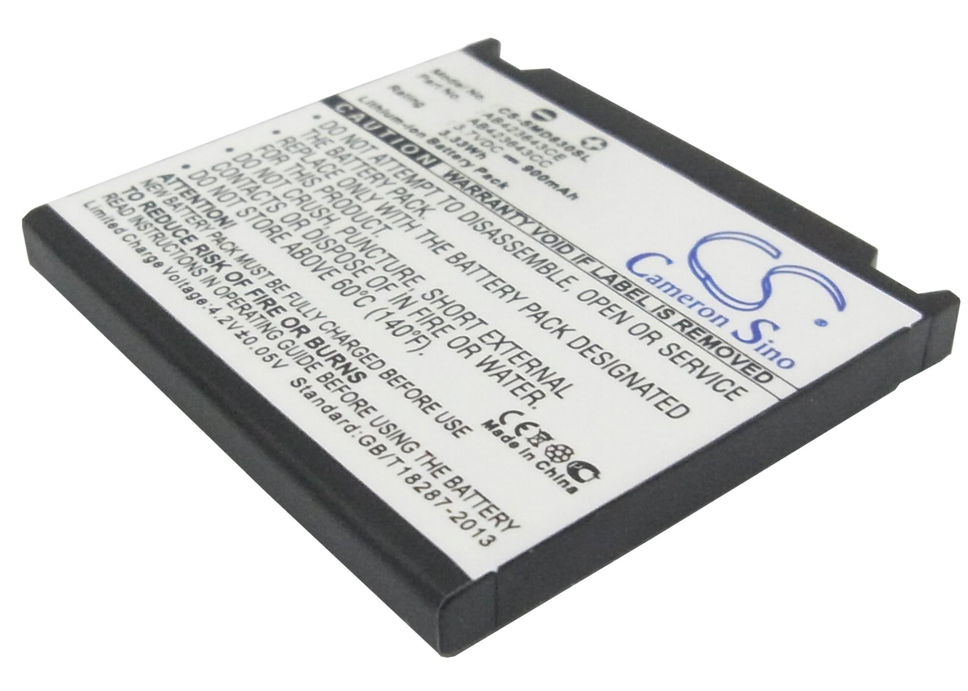 Cameron Sino baterie do mobilů pro SAMSUNG SGH-E840 3.7V Li-ion 900mAh černá - neoriginální