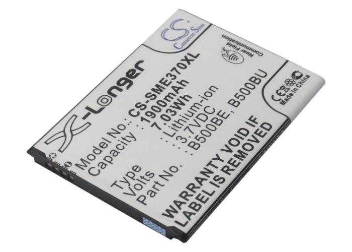 Cameron Sino baterie do mobilů pro SAMSUNG Galaxy S4 Mini Duos 3.7V Li-ion 1900mAh černá - neoriginální