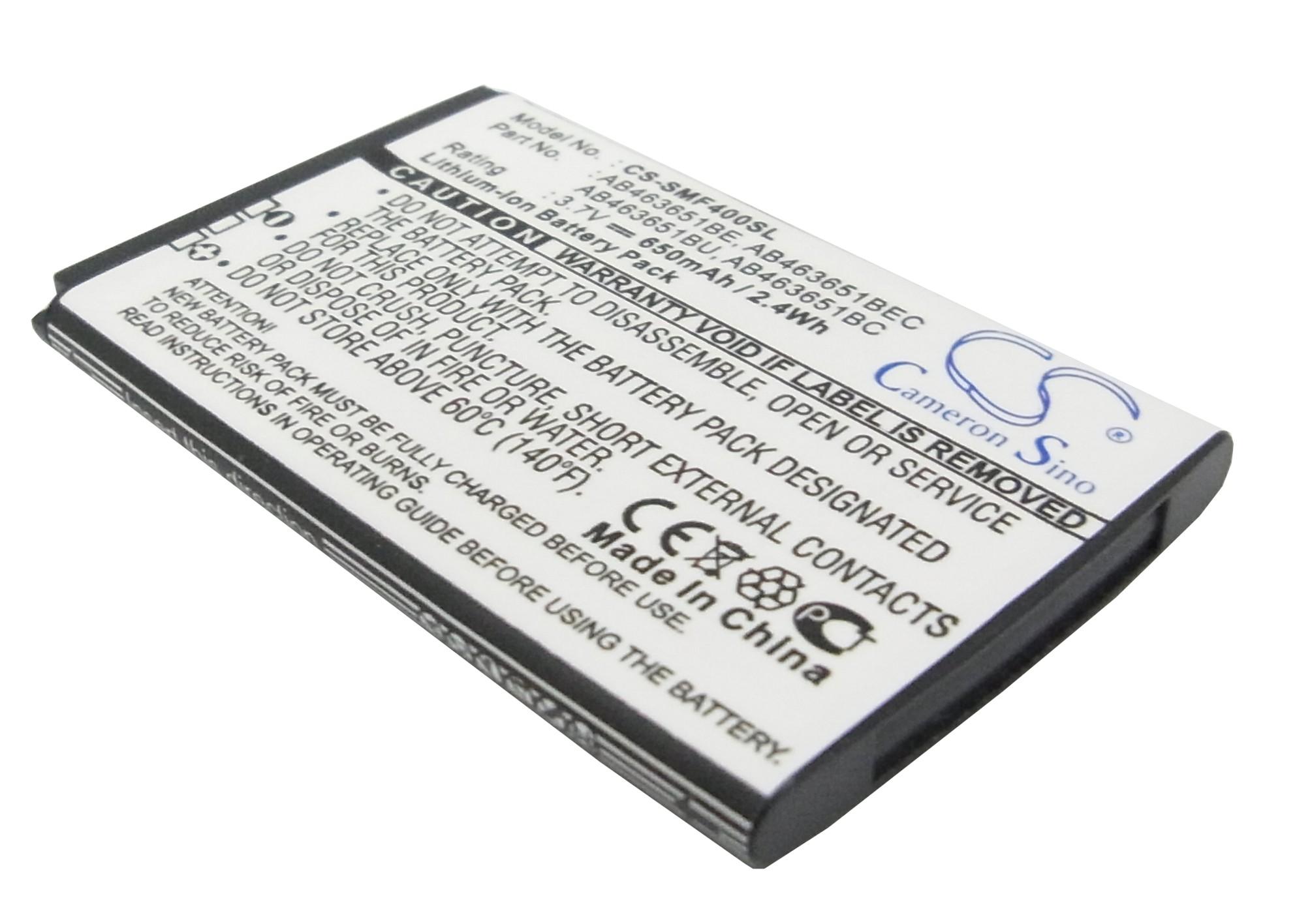 Cameron Sino baterie do mobilů pro SAMSUNG GT-S5600 3.7V Li-ion 650mAh černá - neoriginální