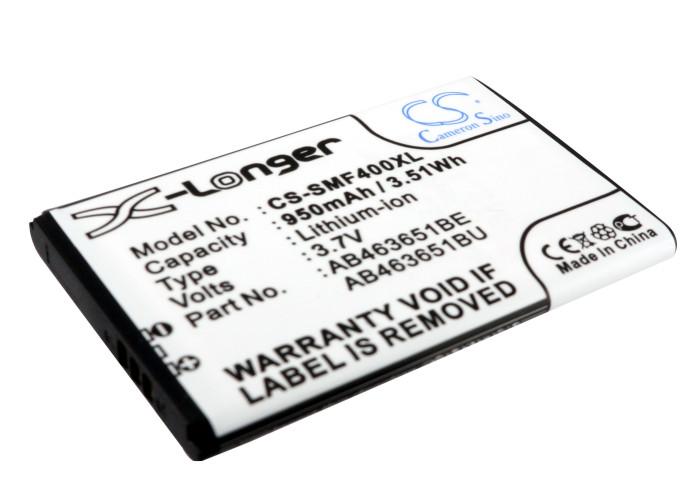 Cameron Sino baterie do mobilů pro SAMSUNG GT-S5600 Blade 3.7V Li-ion 950mAh černá - neoriginální