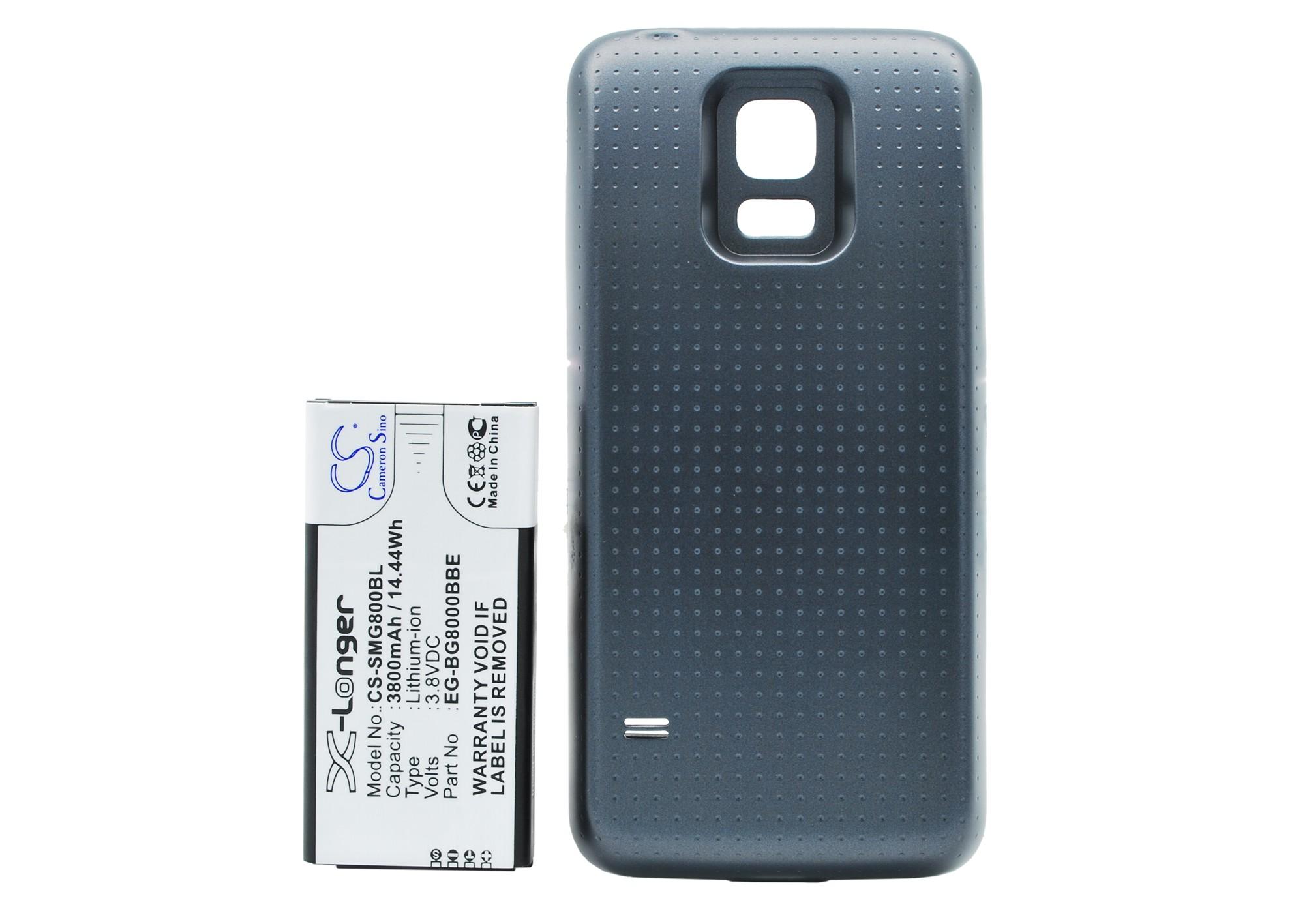 Cameron Sino baterie do mobilů za EG-BG800BBE 3.8V Li-ion 3800mAh černá - neoriginální