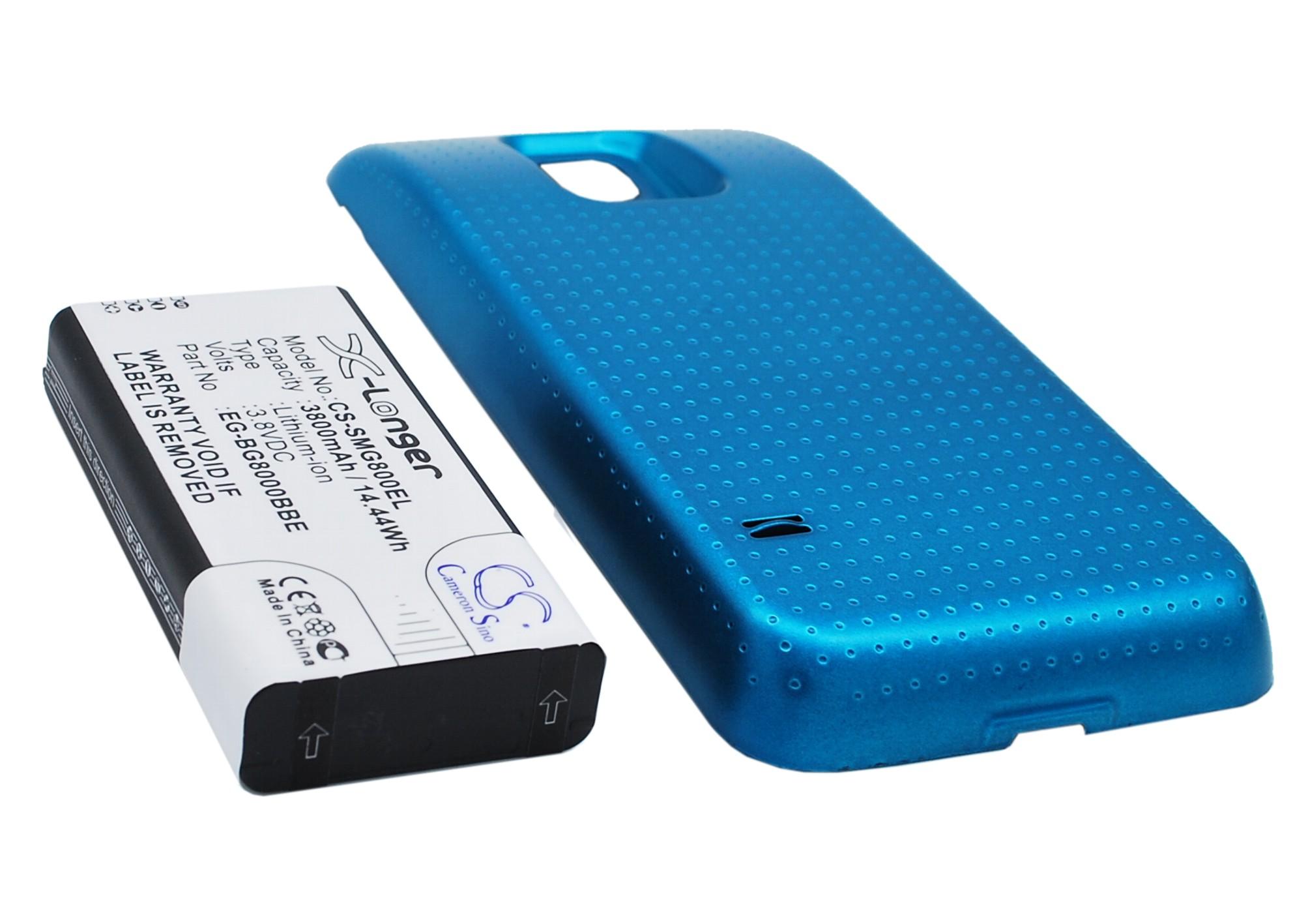 Cameron Sino baterie do mobilů za EG-BG800BBE 3.8V Li-ion 3800mAh modrá - neoriginální