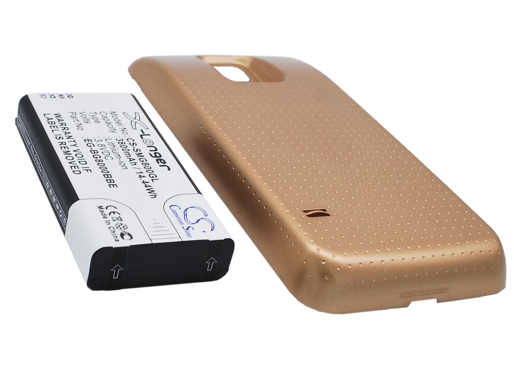 Cameron Sino baterie do mobilů za EG-BG800BBE 3.8V Li-ion 3800mAh zlatá - neoriginální
