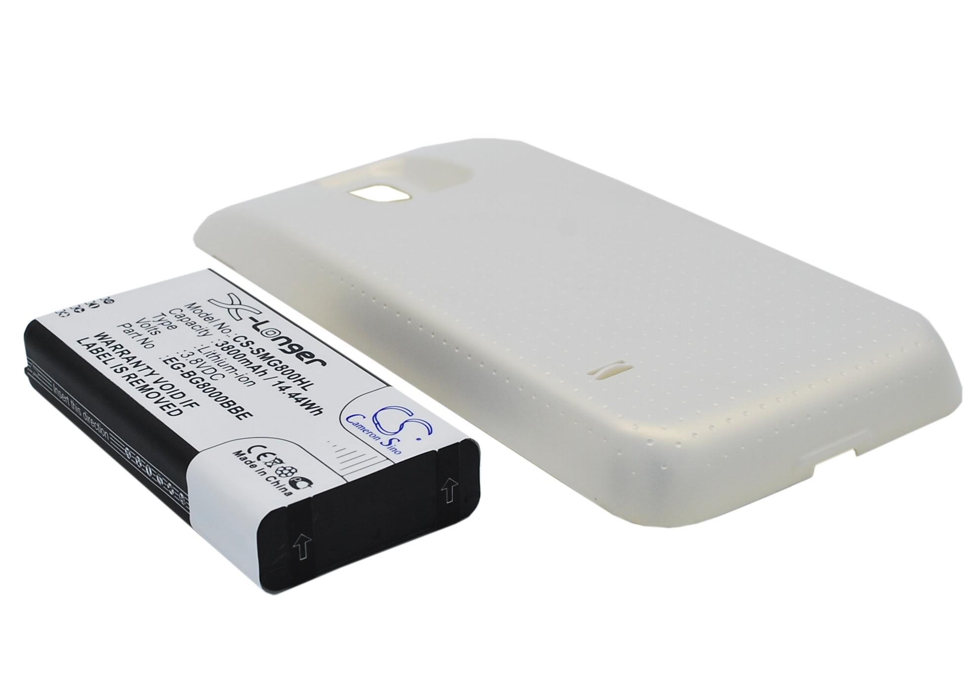 Cameron Sino baterie do mobilů za EG-BG800BBE 3.8V Li-ion 3800mAh bílá - neoriginální