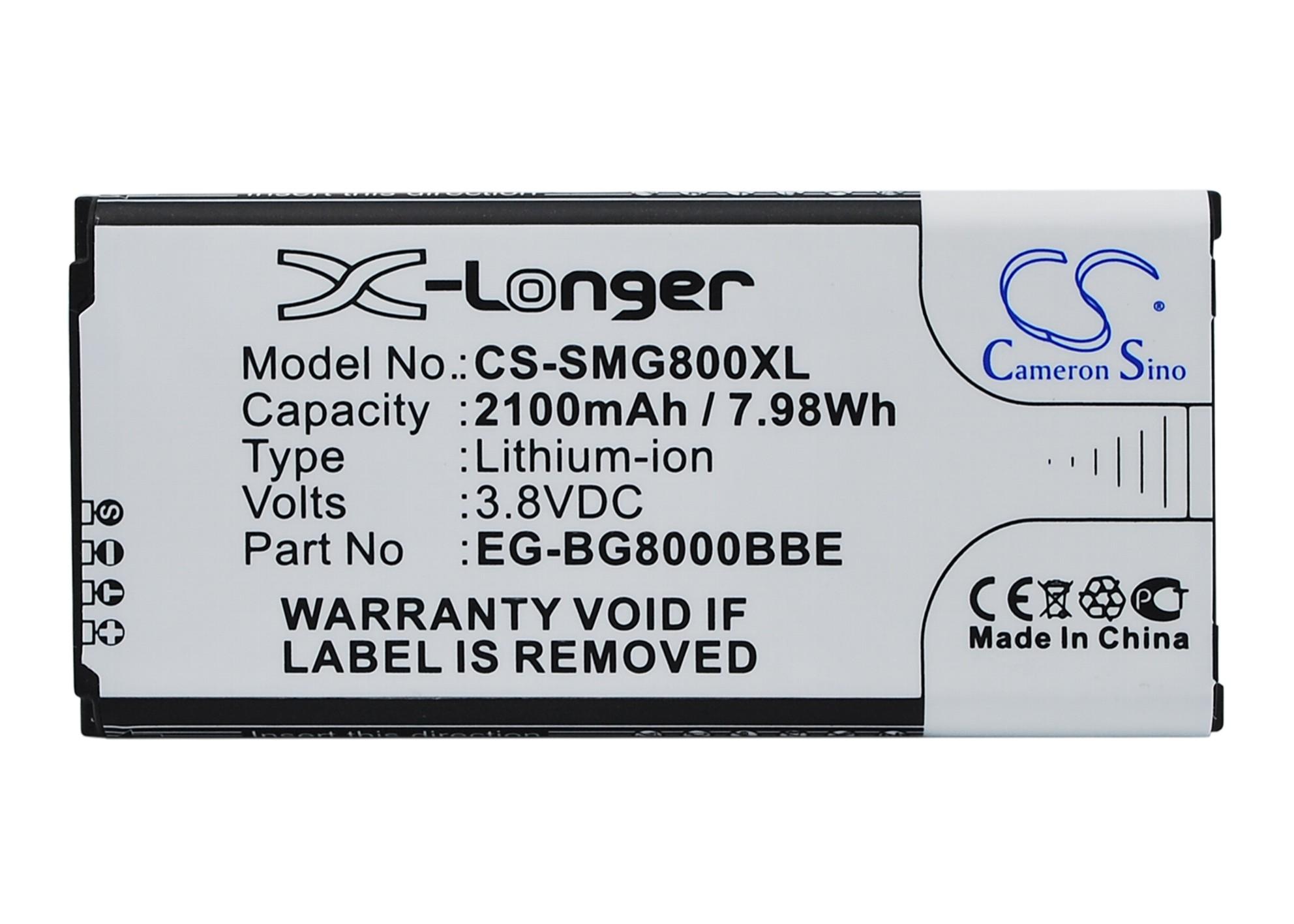 Cameron Sino baterie do mobilů za EG-BG800BBE 3.85V Li-ion 2100mAh černá - neoriginální