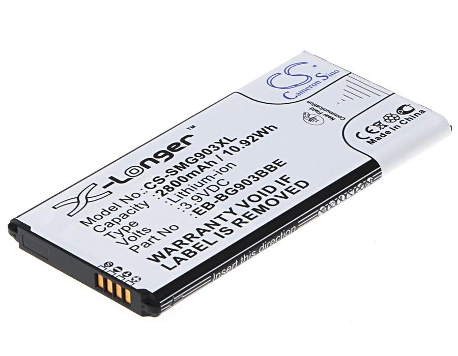 Cameron Sino baterie do mobilů pro SAMSUNG Galaxy S5 Neo Duos 3.9V Li-ion 2800mAh černá - neoriginální
