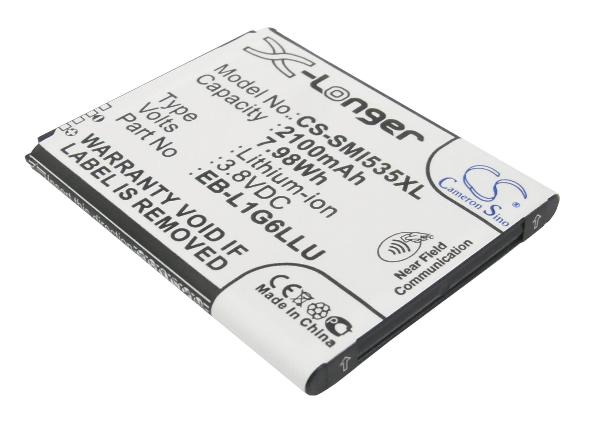 Cameron Sino baterie do mobilů pro SAMSUNG SCH-R530 3.8V Li-ion 2100mAh černá - neoriginální