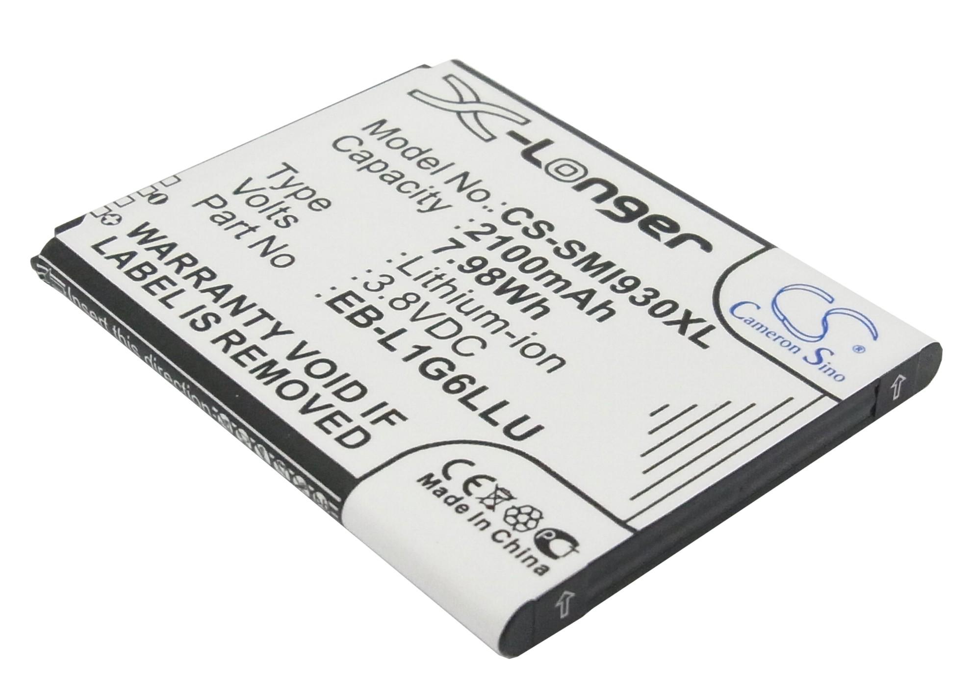 Cameron Sino baterie do mobilů pro SAMSUNG GT-i9305 3.8V Li-ion 2100mAh černá - neoriginální