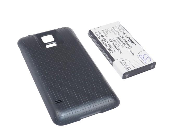 Cameron Sino baterie do mobilů pro SAMSUNG SM-G900F 3.85V Li-ion 5600mAh uhlová černá - neoriginální