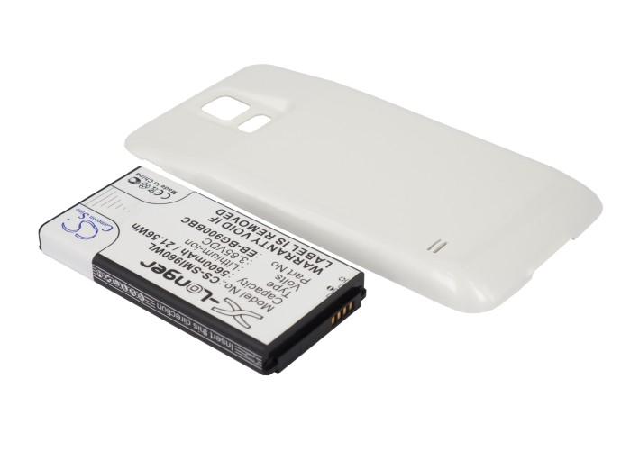 Cameron Sino baterie do mobilů pro SAMSUNG SM-G900F 3.85V Li-ion 5600mAh bílá - neoriginální