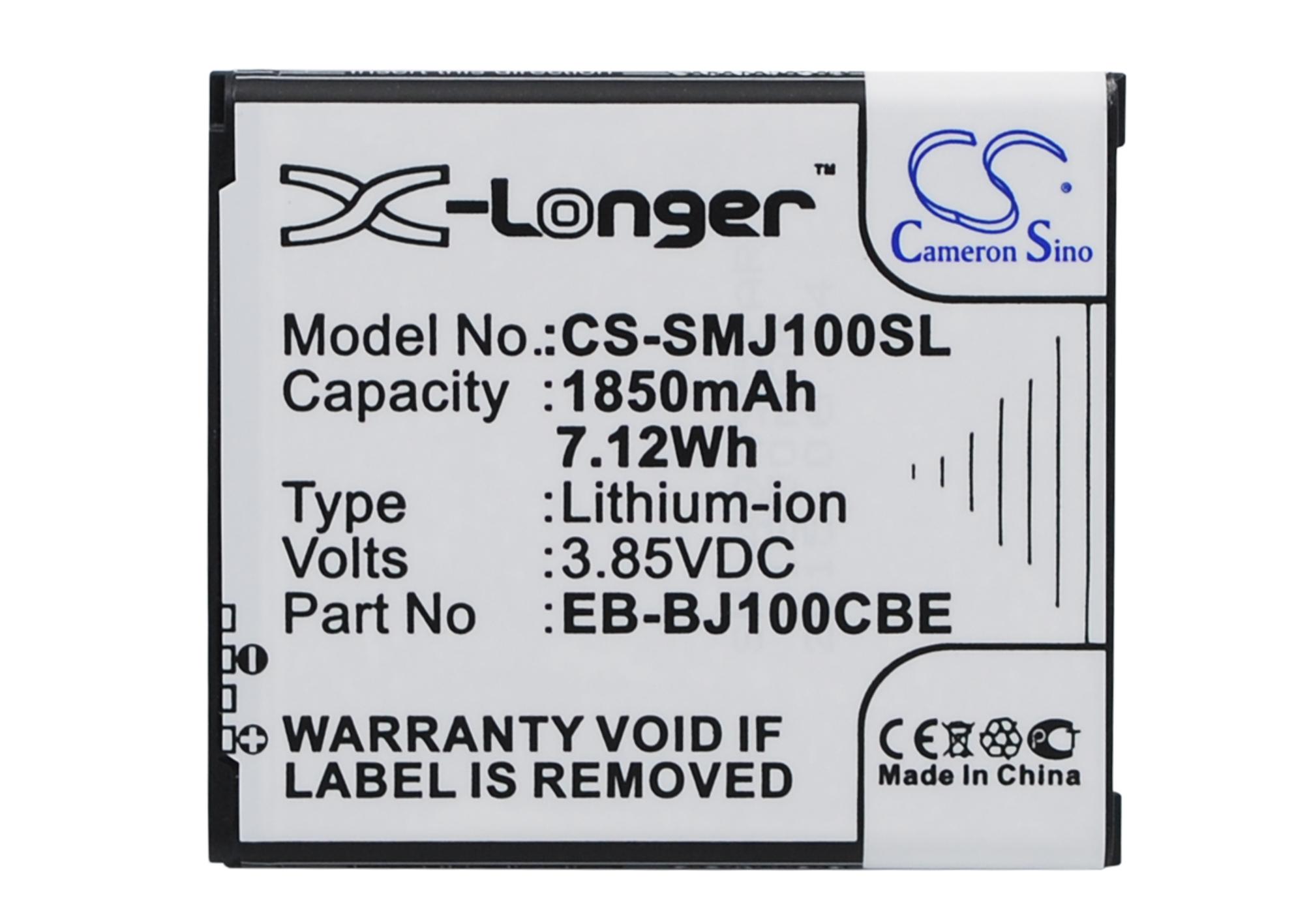 Cameron Sino baterie do mobilů pro SAMSUNG SM-J100H/DS 3.85V Li-ion 1850mAh černá - neoriginální