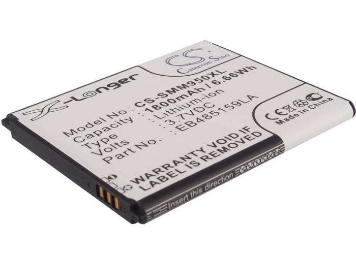 Cameron Sino baterie do mobilů pro SAMSUNG GT-S7710 3.7V Li-ion 1800mAh černá - neoriginální