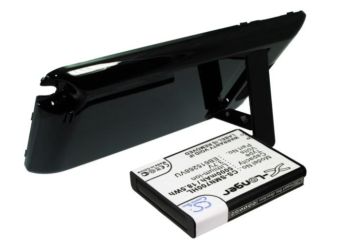 Cameron Sino baterie do mobilů pro SAMSUNG GT-N7000 3.7V Li-ion 5000mAh černá - neoriginální