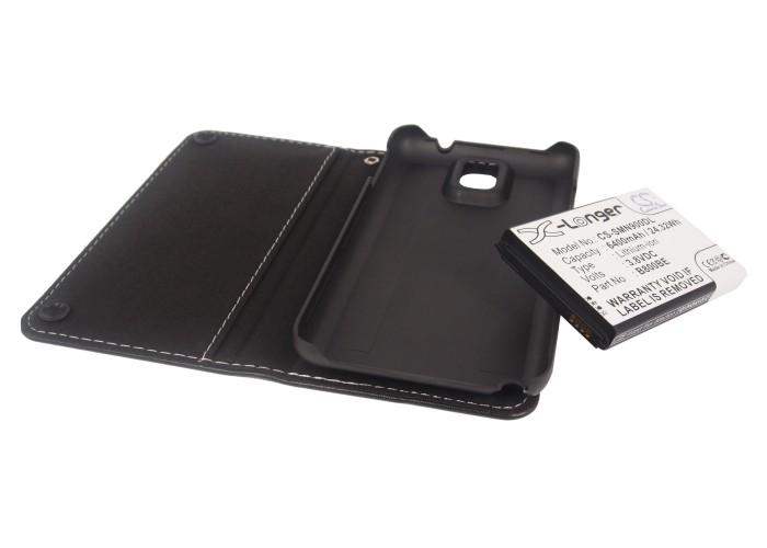 Cameron Sino baterie do mobilů pro SAMSUNG SM-N900 3.8V Li-ion 6400mAh černá - neoriginální