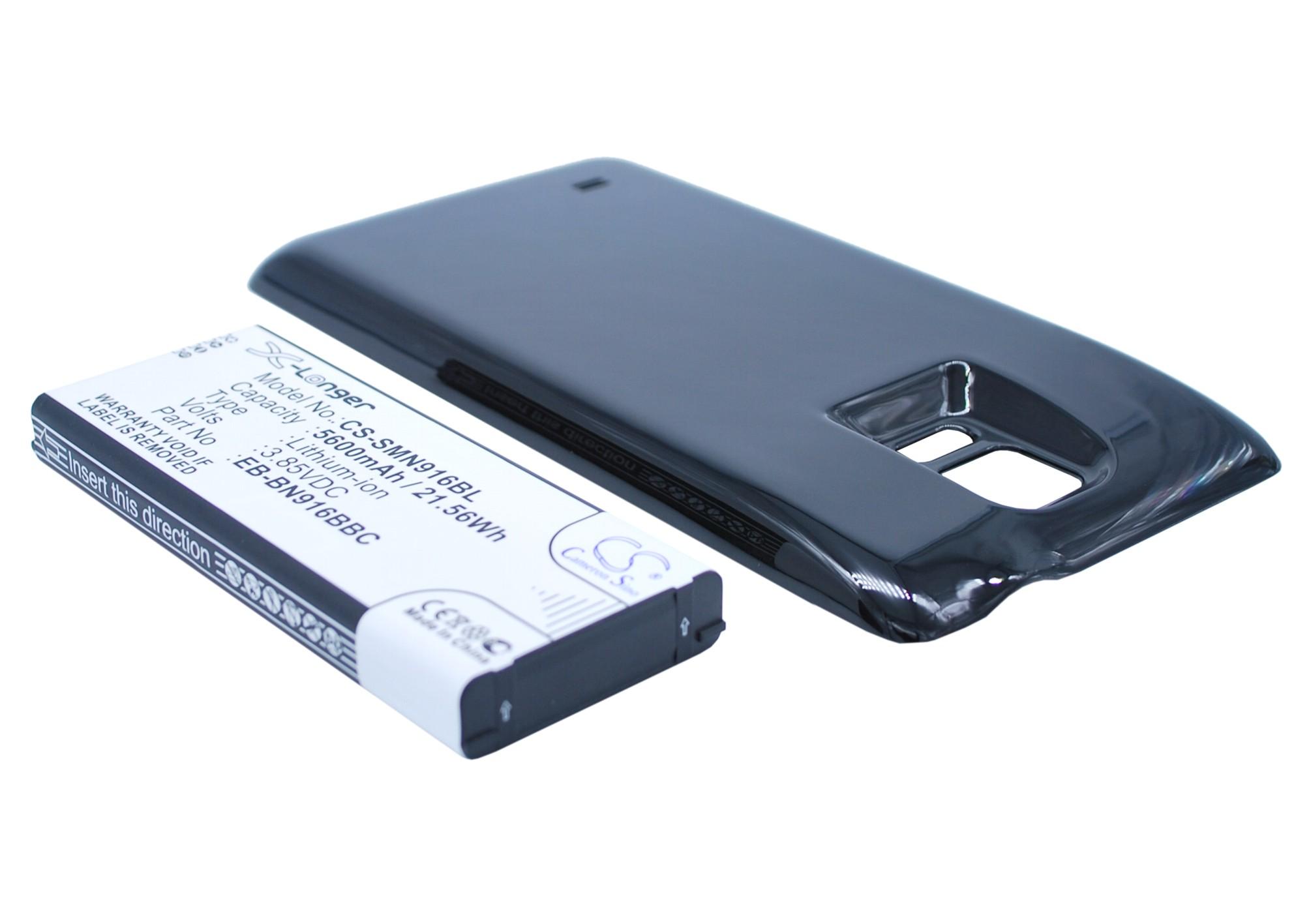Cameron Sino baterie do mobilů pro SAMSUNG SM-N910F 3.85V Li-ion 5600mAh černá - neoriginální