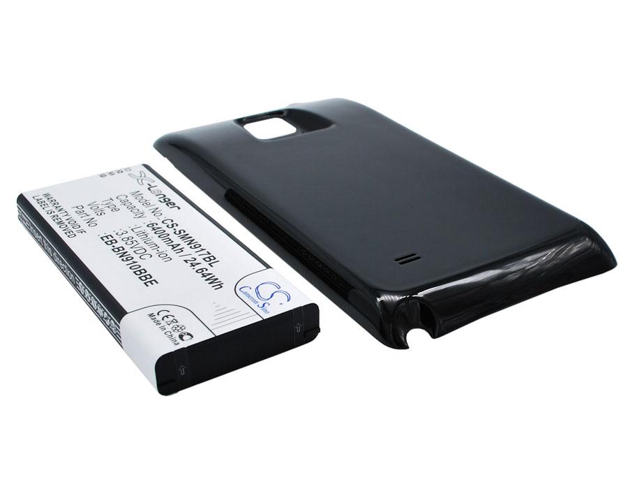 Cameron Sino baterie do mobilů pro SAMSUNG SM-N910C 3.85V Li-ion 6400mAh černá - neoriginální