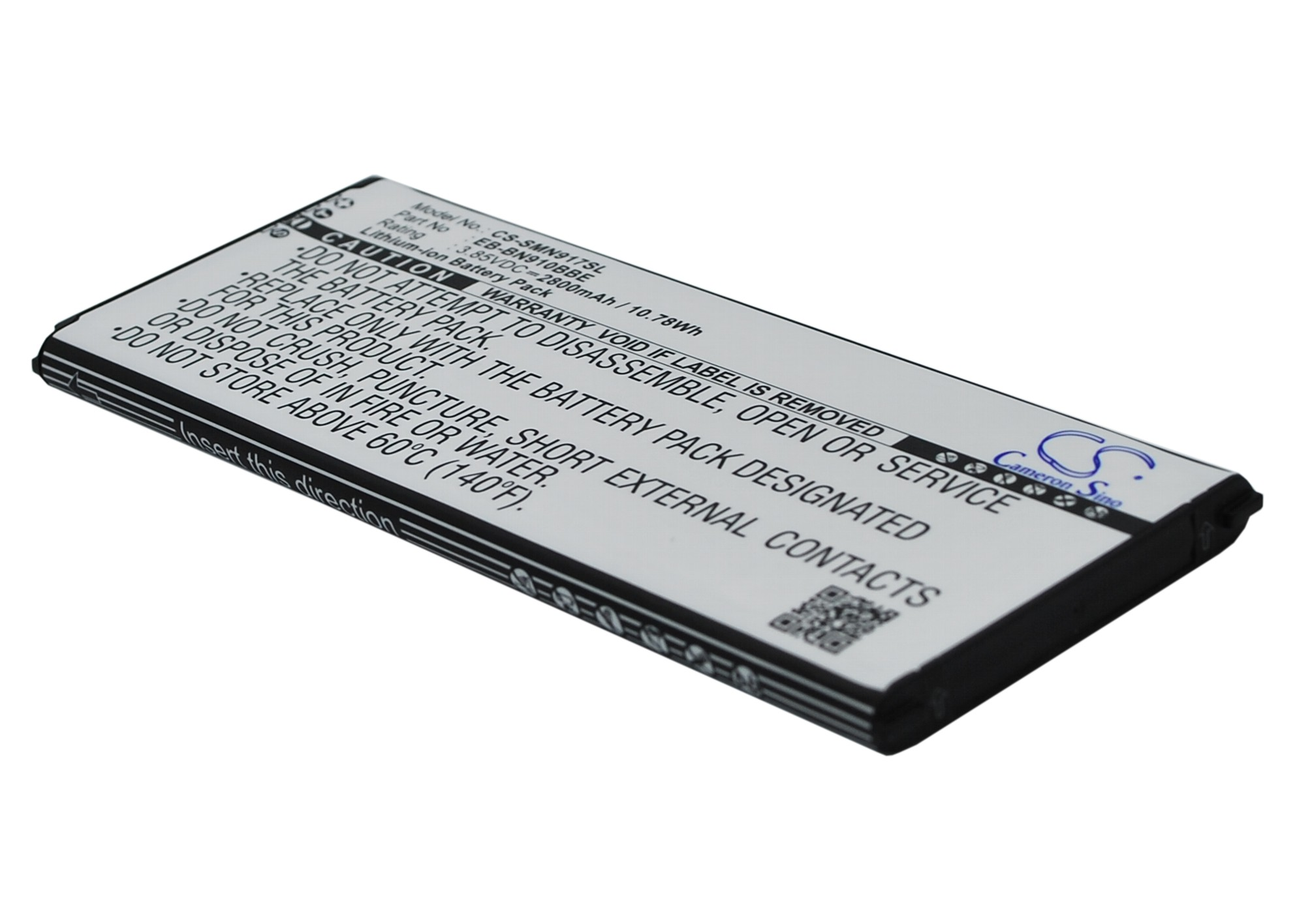 Cameron Sino baterie do mobilů pro SAMSUNG SM-N910C 3.85V Li-ion 2800mAh černá - neoriginální