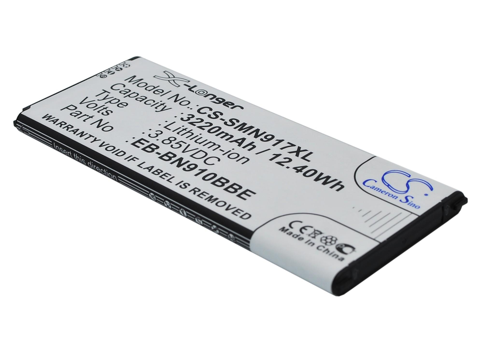 Cameron Sino baterie do mobilů pro SAMSUNG SM-N910C 3.85V Li-ion 3220mAh černá - neoriginální
