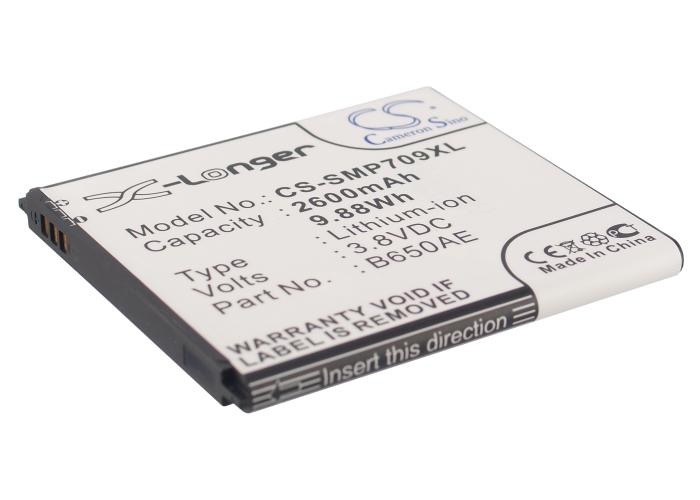 Cameron Sino baterie do mobilů pro SAMSUNG SM-V101F 4G LTE Mobile WiFi Hotspot 3.8V Li-ion 2600mAh černá - neoriginální