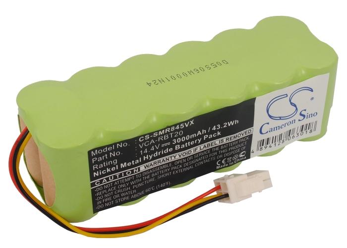 Cameron Sino baterie do vysavačů pro SAMSUNG Navibot Airfresh SR8F30 14.4V Ni-MH 3000mAh - neoriginální