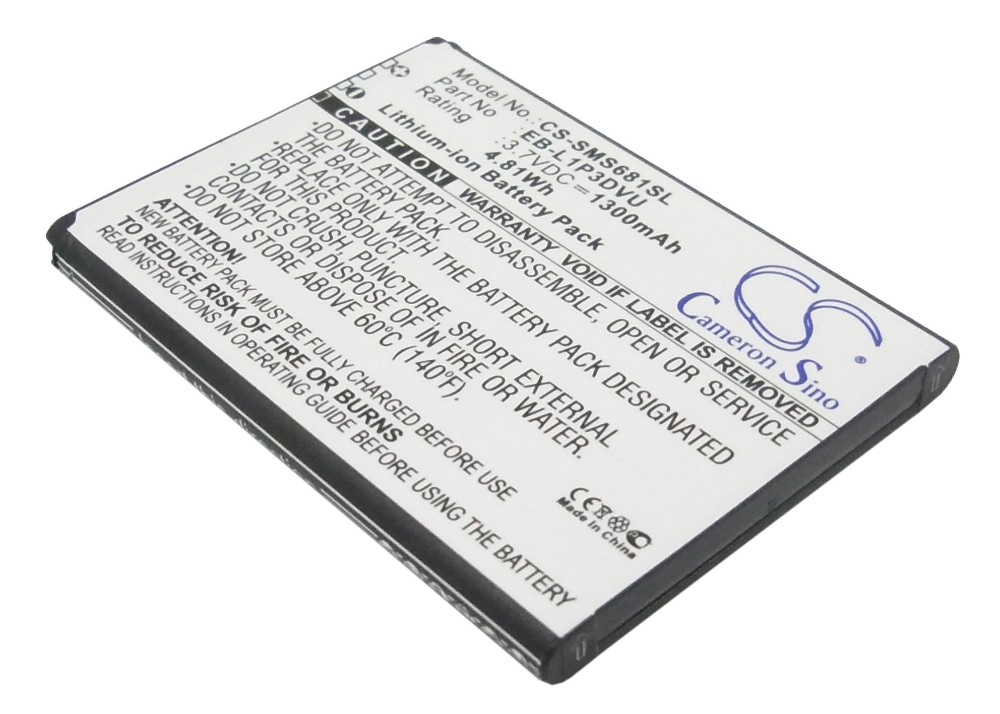 Cameron Sino baterie do mobilů pro SAMSUNG Galaxy Fame Lite 3.7V Li-ion 1300mAh černá - neoriginální