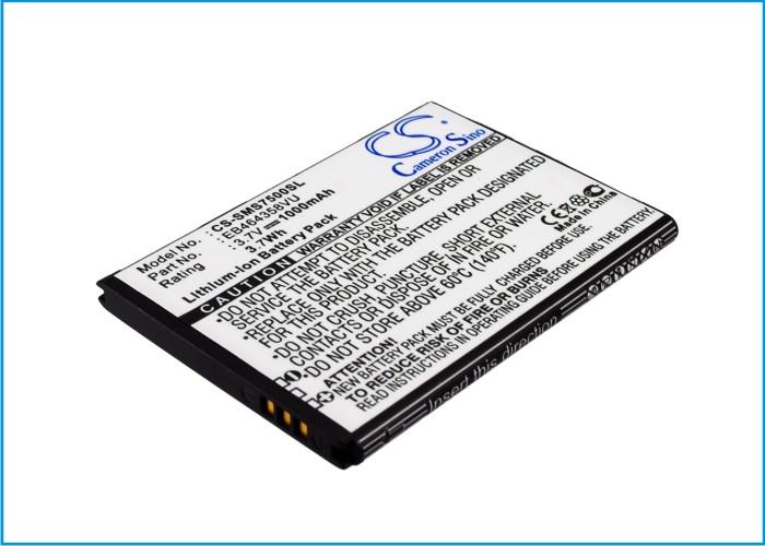 Cameron Sino baterie do mobilů pro SAMSUNG Galaxy Ace Q 3.7V Li-ion 1000mAh černá - neoriginální