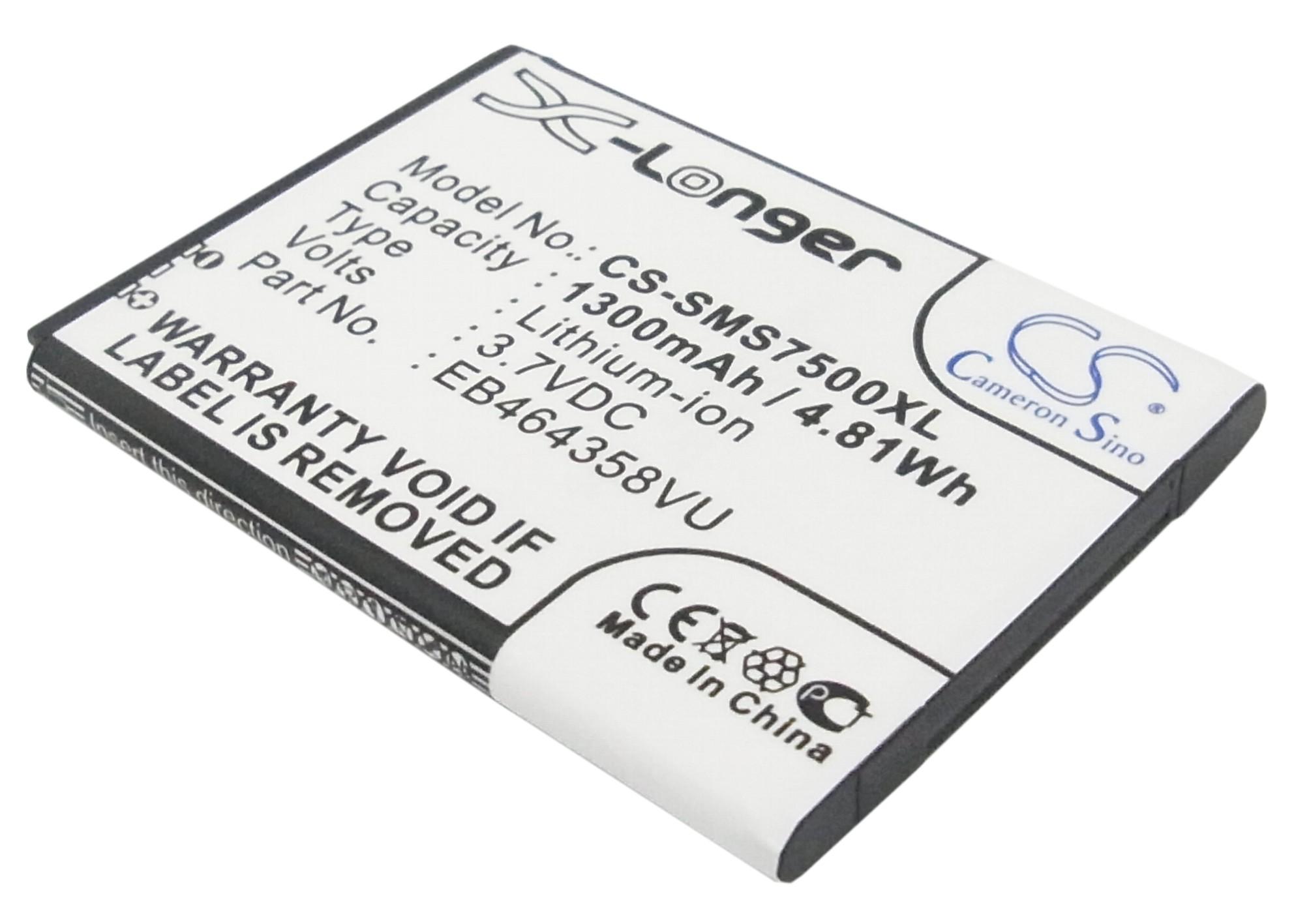 Cameron Sino baterie do mobilů pro SAMSUNG Galaxy Ace Q 3.7V Li-ion 1300mAh černá - neoriginální