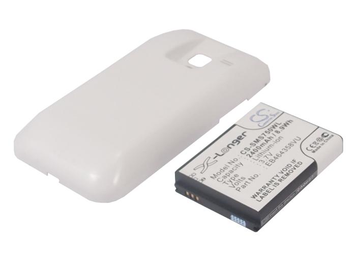 Cameron Sino baterie do mobilů pro SAMSUNG GT-S7500 3.7V Li-ion 2400mAh bílá - neoriginální