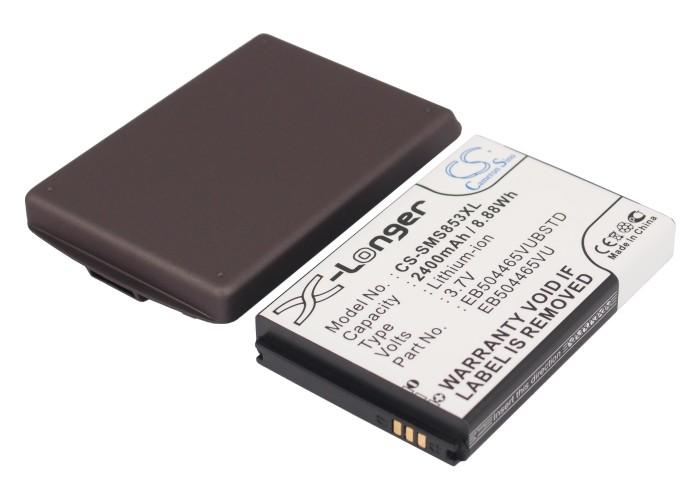 Cameron Sino baterie do mobilů pro SAMSUNG GT-S8530 3.7V Li-ion 2400mAh šedá - neoriginální