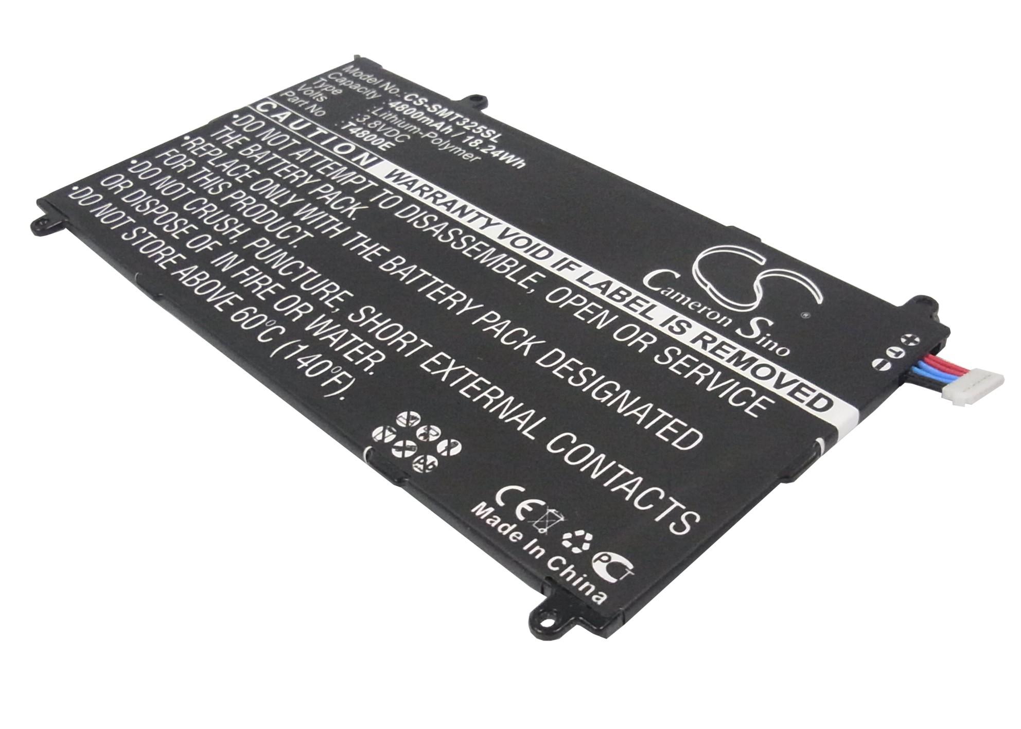 Cameron Sino baterie do tabletů pro SAMSUNG SM-T320 3.8V Li-Polymer 4800mAh černá - neoriginální