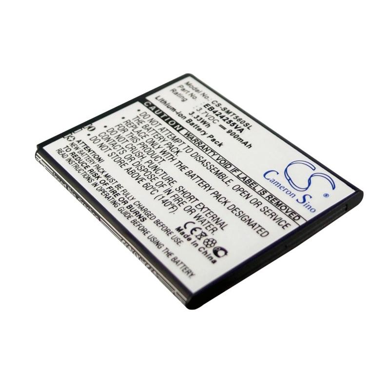 Cameron Sino baterie do mobilů pro SAMSUNG GT-S5220 3.7V Li-ion 900mAh černá - neoriginální