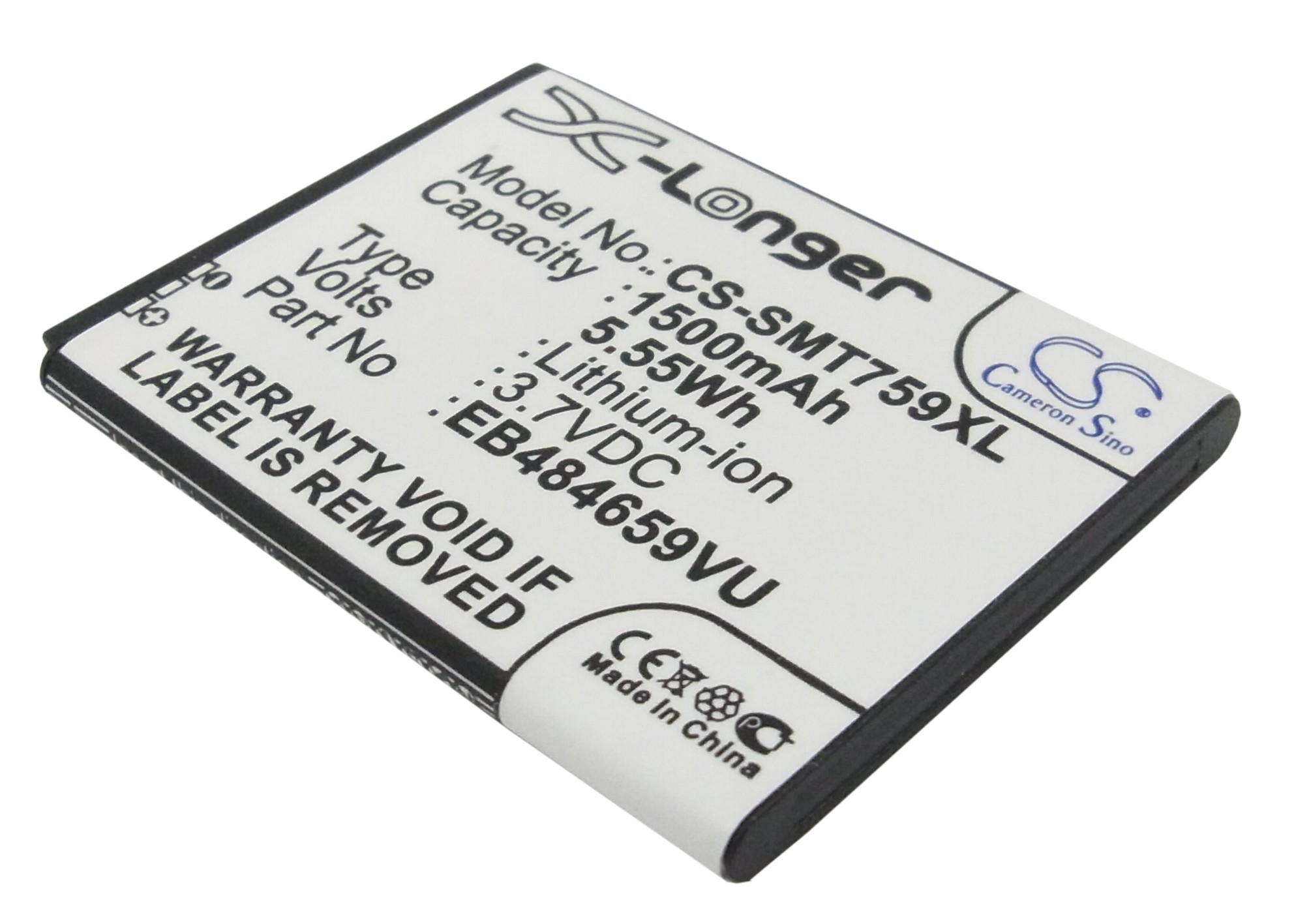 Cameron Sino baterie do mobilů pro SAMSUNG GT-I8150 3.7V Li-ion 1500mAh černá - neoriginální