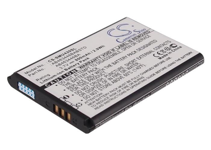 Cameron Sino baterie do mobilů pro SAMSUNG SGH-T109 3.7V Li-ion 800mAh černá - neoriginální
