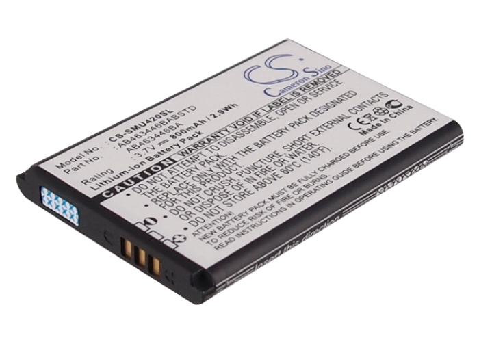 Cameron Sino baterie do mobilů pro SAMSUNG SGH-T255 3.7V Li-ion 800mAh černá - neoriginální