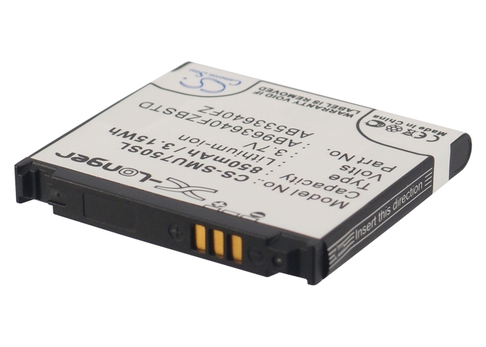 Cameron Sino baterie do mobilů pro SAMSUNG Alias 2 3.7V Li-ion 850mAh černá - neoriginální