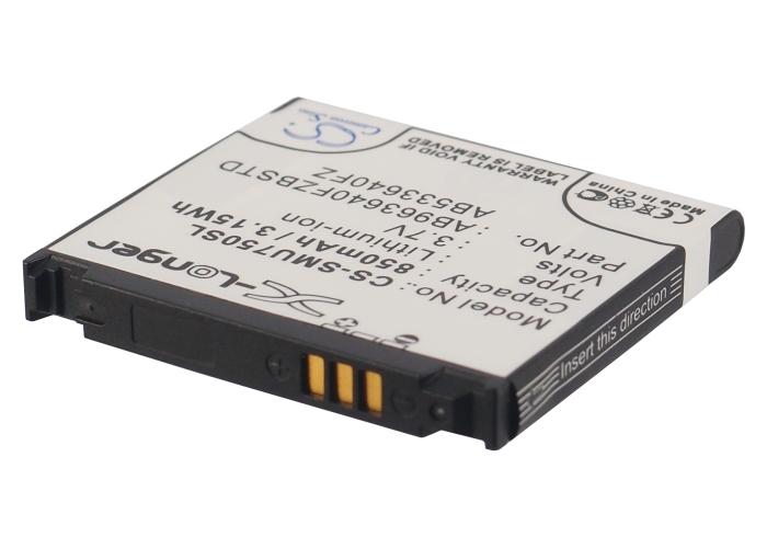Cameron Sino baterie do mobilů pro SAMSUNG Alias 2 U750 3.7V Li-ion 850mAh černá - neoriginální