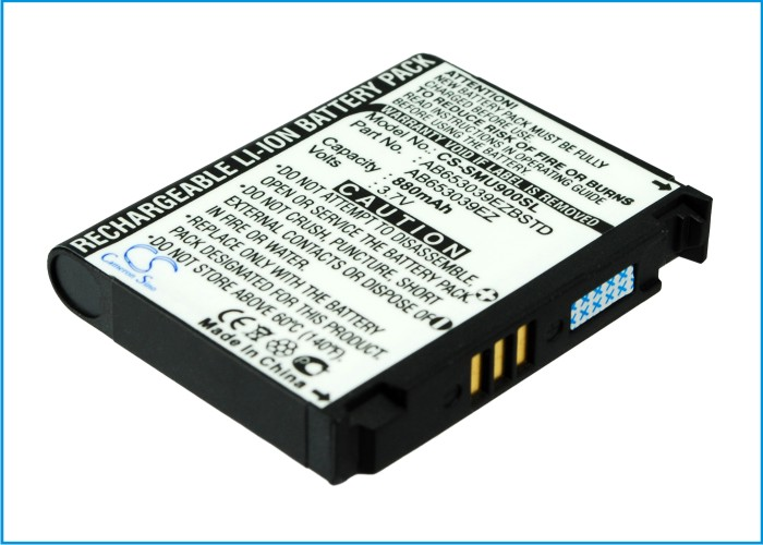 Cameron Sino baterie do mobilů pro SAMSUNG SGH-U800 3.7V Li-ion 880mAh černá - neoriginální