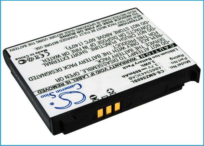 Cameron Sino baterie do mobilů pro SAMSUNG Impression SGH-A877 3.7V Li-ion 800mAh černá - neoriginální