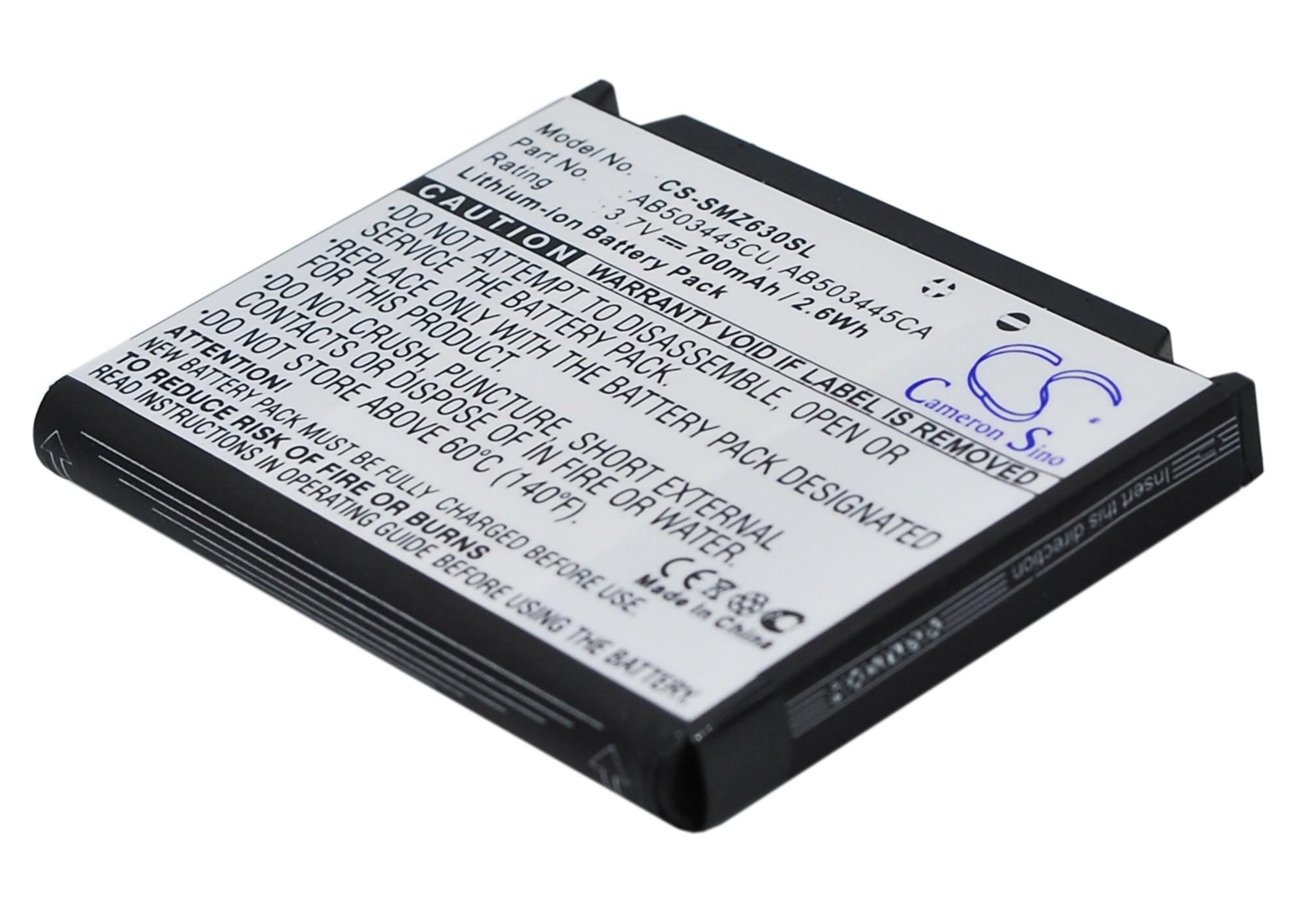 Cameron Sino baterie do mobilů pro SAMSUNG SGH-P520 3.7V Li-ion 700mAh černá - neoriginální